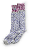 Classic Women's Thermaskin Colorblock Marl Boot Sock-Black Marl