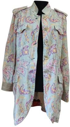 Bogner White Linen Jacket for Women