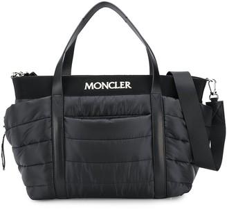 Moncler Enfant Quilted Shoulder Bag