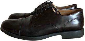Salvatore Ferragamo Black Leather Lace ups