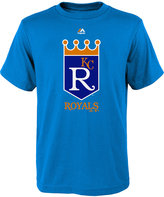 Majestic Boys' Kansas City Royals Coop Official Logo T-Shirt