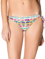 Jessica Simpson Tunnel Tribal Stripe Swim Hipster Bottom