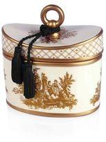 Seda France Seda FranceTM Sel De Mer Classic Toile 2-Wick Candle in Ceramic Container