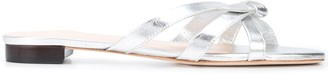 Loeffler Randall metallic Eveline sandals
