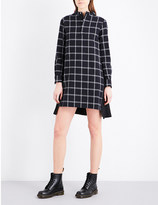 Izzue Checked cotton dress