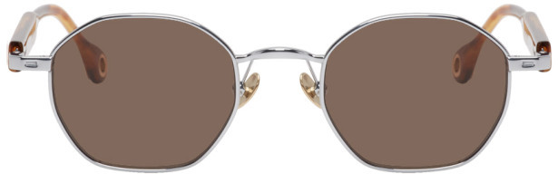 Études Silver and Tortoiseshell Liberte Sunglasses