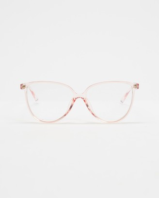 Le Specs Pink Blue Light Lenses - Eternally Blue Light Glasses - Size One Size at The Iconic