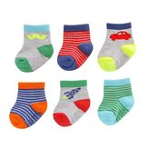 Carter's Baby Boy 6-pk. Graphic Crew Socks