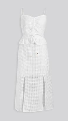 SUBOO Edie Ruffle Lace Dress