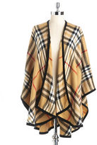 Lord & Taylor Plaid Shawl