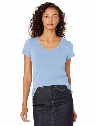 Tommy Hilfiger Women's Short Sleeve V-Neck T-Shirt (Regular and Plus Sizes)