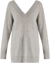 Equipment Linden deep V-neck cashmere sweater