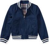 Ralph Lauren 2-6X Reversible Baseball Jacket