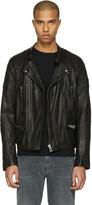 Belstaff Black Leather Greensted Jacket