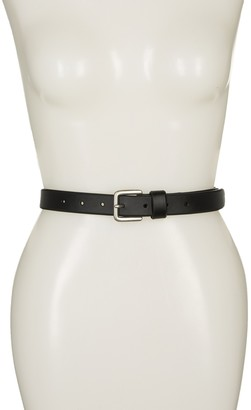 Melrose and Market Double Prong Leather Skinny Jeans Belt