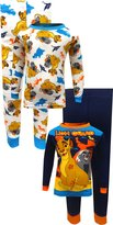 Disney Junior The Lion Guard 4 Piece Cotton Toddler Pajamas for boys