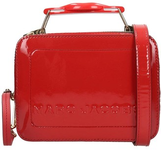 Marc Jacobs The Box 20 Hand Bag In Red Patent Leather
