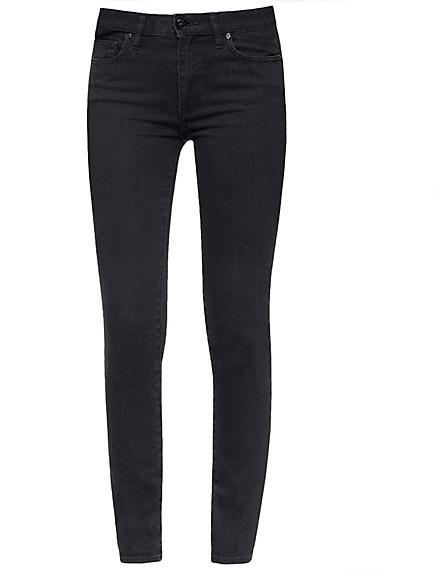 Tory Burch Classic Legging Jean In Black Stonewash