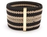 Roksanda Striped woven-elastic belt