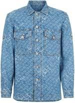 Diesel Jacquard Denim Jacket