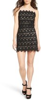 J.o.a. Sleeveless Lace Minidress