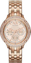 Armani Exchange Ax5406 Rose Gold-toned Watch