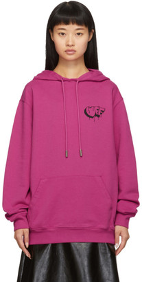Off-White Off White Pink Markers Hoodie
