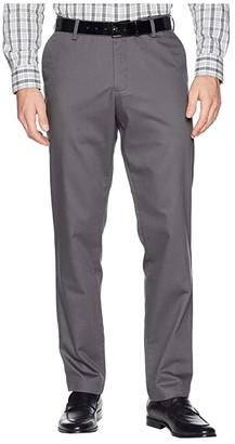 Dockers Athletic Fit Signature Khaki Lux Cotton Stretch Pants - Creaseless (Magnet) Men's Casual Pants