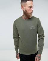 Jack Wills Hatton Logo Sweatshirt in Navy