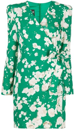 Boutique Moschino Floral Wrap Dress