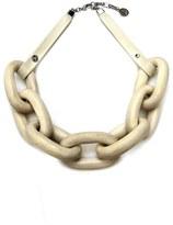 Ben-Amun Wood Link Collar Necklace