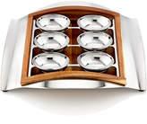 Nambe Judaica Wave Seder Plate