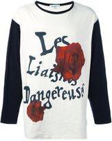 Yohji Yamamoto 'Roses' print top