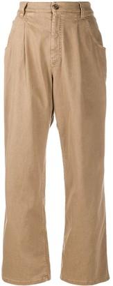 Brunello Cucinelli Wide-Leg Chino Trousers