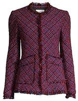 Rebecca Taylor Women's Multi-Tweed Jacket