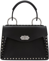 Proenza Schouler Black Studded Small Hava Bag