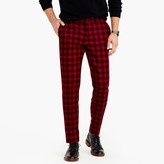 J.Crew Bowery slim pant in burgundy wool