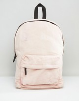 Asos Backpack In Acid Wash Pink