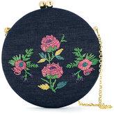 Serpui embroidered shoulder bag