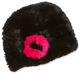 Jocelyn Rabbit Fur Knitted Hat