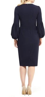 Maggy London Eliza Balloon Sleeve Midi Dress