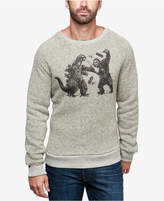 Lucky Brand Men's Movie Monster Graphic Sweater