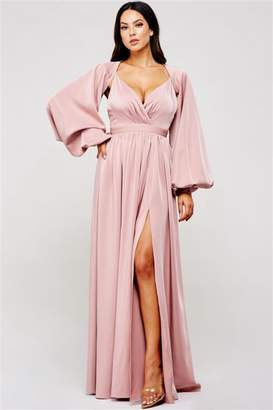 Latiste Mauve Maxi Dress