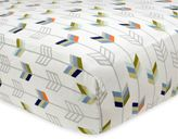 Just Born Adventure Arrows Fitted Crib Sheet