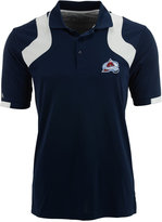 Antigua Men's Short-Sleeve Colorado Avalanche Fusion Polo