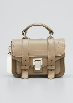 Proenza Schouler Ps1 Micro Lux Metallic Crossbody Bag