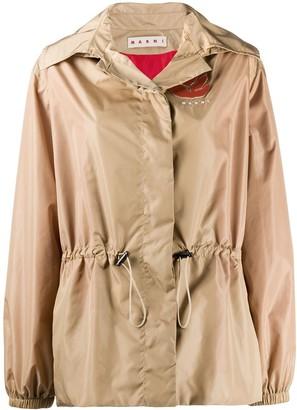 Marni Lightweight Hooded Jacket