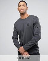Cheap Monday Gazer Long Sleeve T-Shirt Terry Pocket