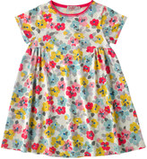Cath Kidston Painted Pansies jersey dress