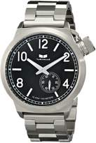 Vestal Men's CTN3M01 Canteen Metal Silver Black Watch